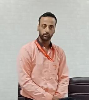 Salim Yousuf, Sales Officer for Andslite in North Kashmir.