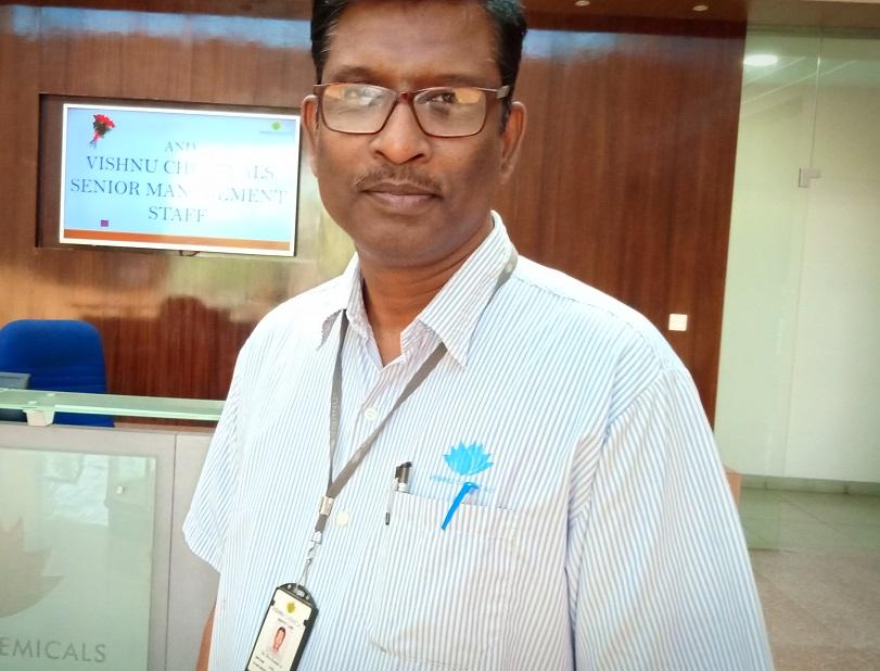 Dr. Shiv Kumar – Vice President – Technical, Vishnu Chemicals
